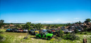 Early Bronco Club Event Katemcy Rocks Offroad Park Mason Texas