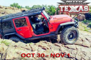 Nitro Jeep Experience Katemcy Rocks offroad Park Mason Texas